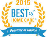 2015 Best of Home Care Award