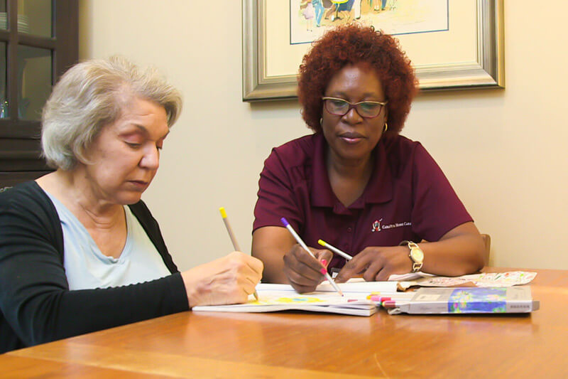 Caregivers receive continued education