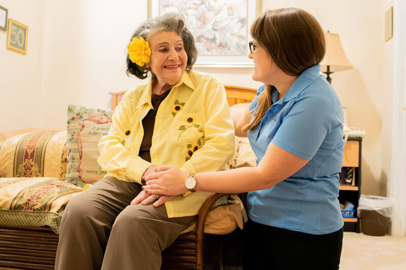 Customer Satisfaction surveys ensure that our caregivers are held to a high standard