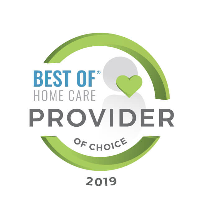 Best of Home Care 2019 provider of choice