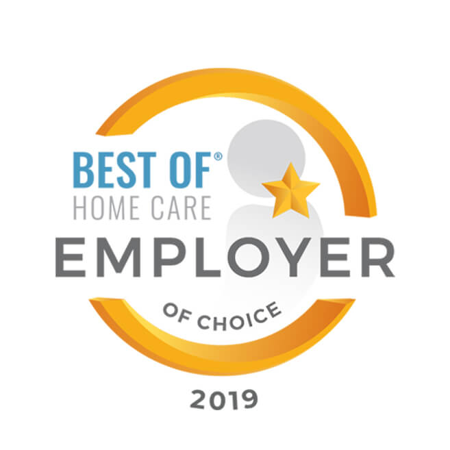 Best of Home Care 2019 Employer of choice