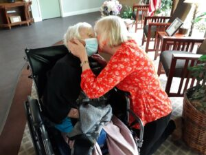 Home Care Roswell GA - Joy - Reunited and it Feels so Good